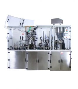 PK 120 AL / PL / Combo Linear is very effective filler providing many features. The design of the machine is ergonomic and easy to handle and maintain for operators. The filler is very flexible, and therefore suitable for different product segments. It provides production speed of 60 tubes per minute, depending on the tube size and type of product. The filling accuracy is excellent compared to competitor's tube fillers in this speed range. All pneumatic controls are easily accessible without stopping the machine.