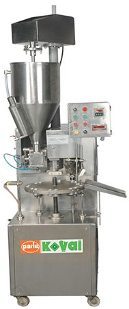 PK 30 AL – SH and 30 AL – DH is a very cost effective filler providing many features. The design of the machine is ergonomic, easy to handle and easy to maintain for operators. It is a fixed speed tube filling and sealing machine. It is semi-automatic tube filler for pharmaceutical, cosmetic, chemical and food products. It is one of our most popular machines. It has an output of 35 and 70 tubes/minute for aluminum tubes.
