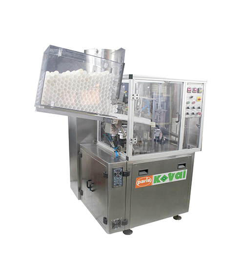 PK 60 PL – A is very cost effective filler providing many features. The design of the machine is ergonomic and easy to handle and maintain for operators. The filler is very flexible, and therefore suitable for different product segments. It provides production speed of 60 tubes per minute, depending on the tube size and type of product. The filling accuracy is excellent compared to competitor's tube fillers in this speed range. All pneumatic controls are easily accessible without stopping the machine.