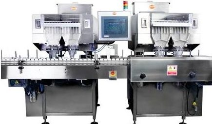 PMC-120 24 Track High Speed Multi Channel Counter Bottle Filler Output : 120 bpm Counter/Bottle Filler, Counter & Bottle Filler, Counter&Bottle Filler, Counter and Bottle Filler