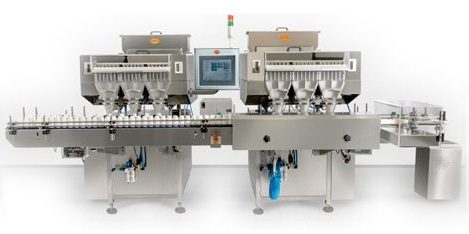 PMC-200 36 Track High Speed Multi Channel Counter Bottle Filler Output : 200 bpmCounter/Bottle Filler, Counter & Bottle Filler, Counter&Bottle Filler, Counter and Bottle Filler