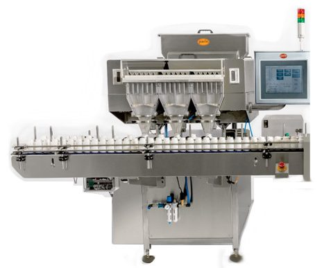 PMC-80 24 Track High Speed Multi Channel Counter Bottle Filler Output : 120 bpm Counter/Bottle Filler, Counter & Bottle Filler, Counter&Bottle Filler, Counter and Bottle Filler