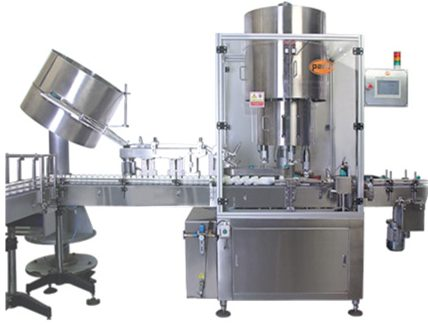 PSC-120 4 Head Capping Machine, CRC Type, Screw Capping and Press-On Cap, Bottle Capping Machines