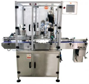PSC-60 Single Head Capping Machines, CRC Type, Press-On Caps, ROPP Caps