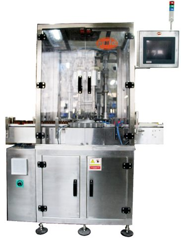PSC-64 Single Head Pre-Thread Metal Caps Capping Machine, Bottle Capping Machines