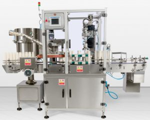 PSC-65 Single Head Inline Capping Machine, CRC and Screw Type, Bottle Capping Machines